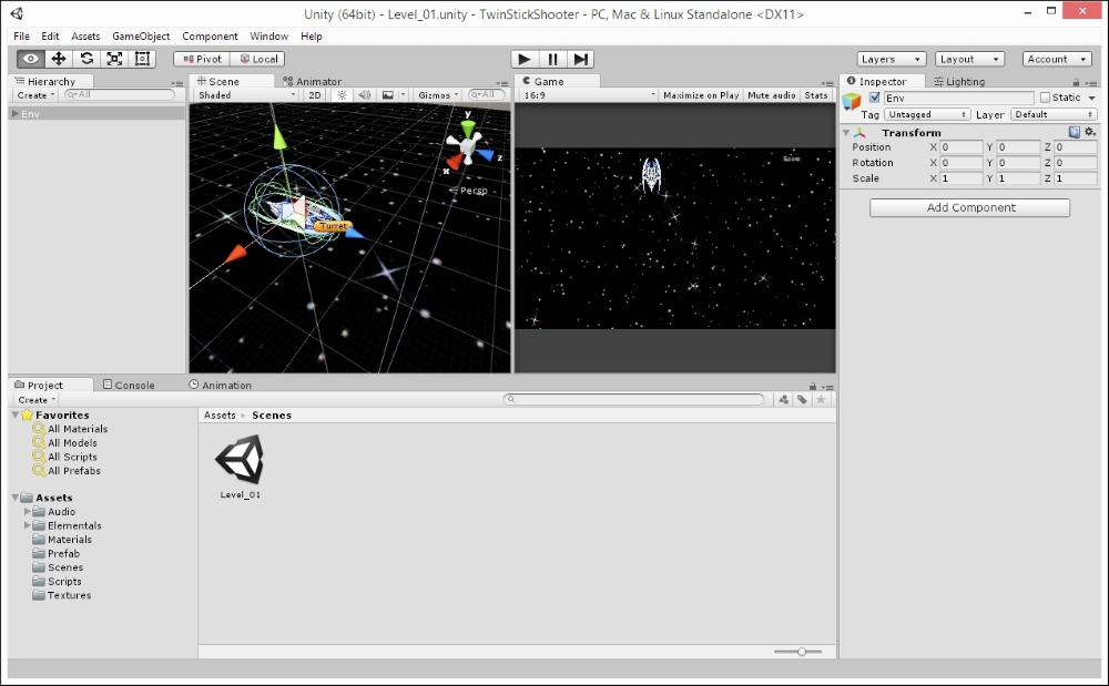 Looking ahead – the completed project - Unity 5 x By Example