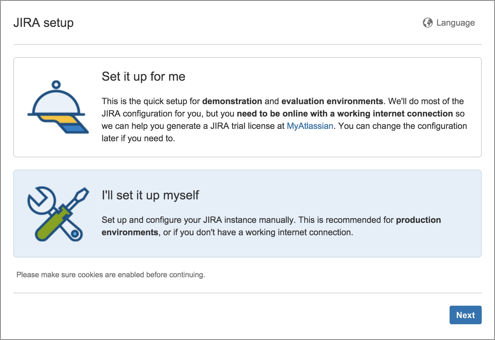 Installing JIRA for production use - JIRA 7 Administration