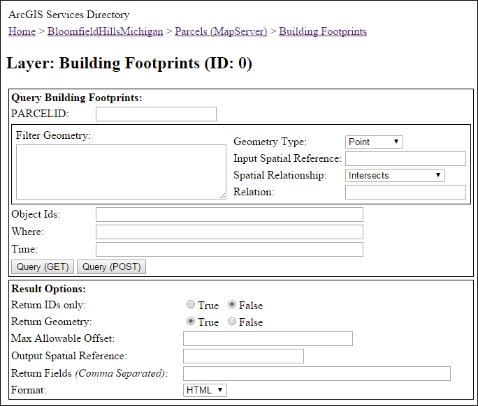 Understanding ArcGIS Server and the REST API - ArcGIS for