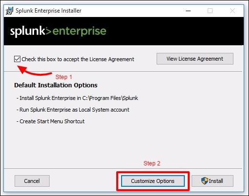Installing Splunk on Windows - Splunk Essentials - Second