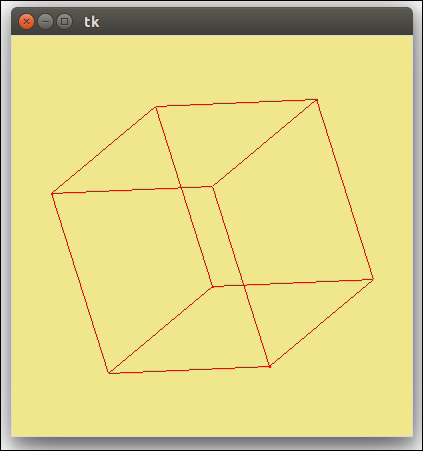 3D graphics with Tkinter - Tkinter GUI Application