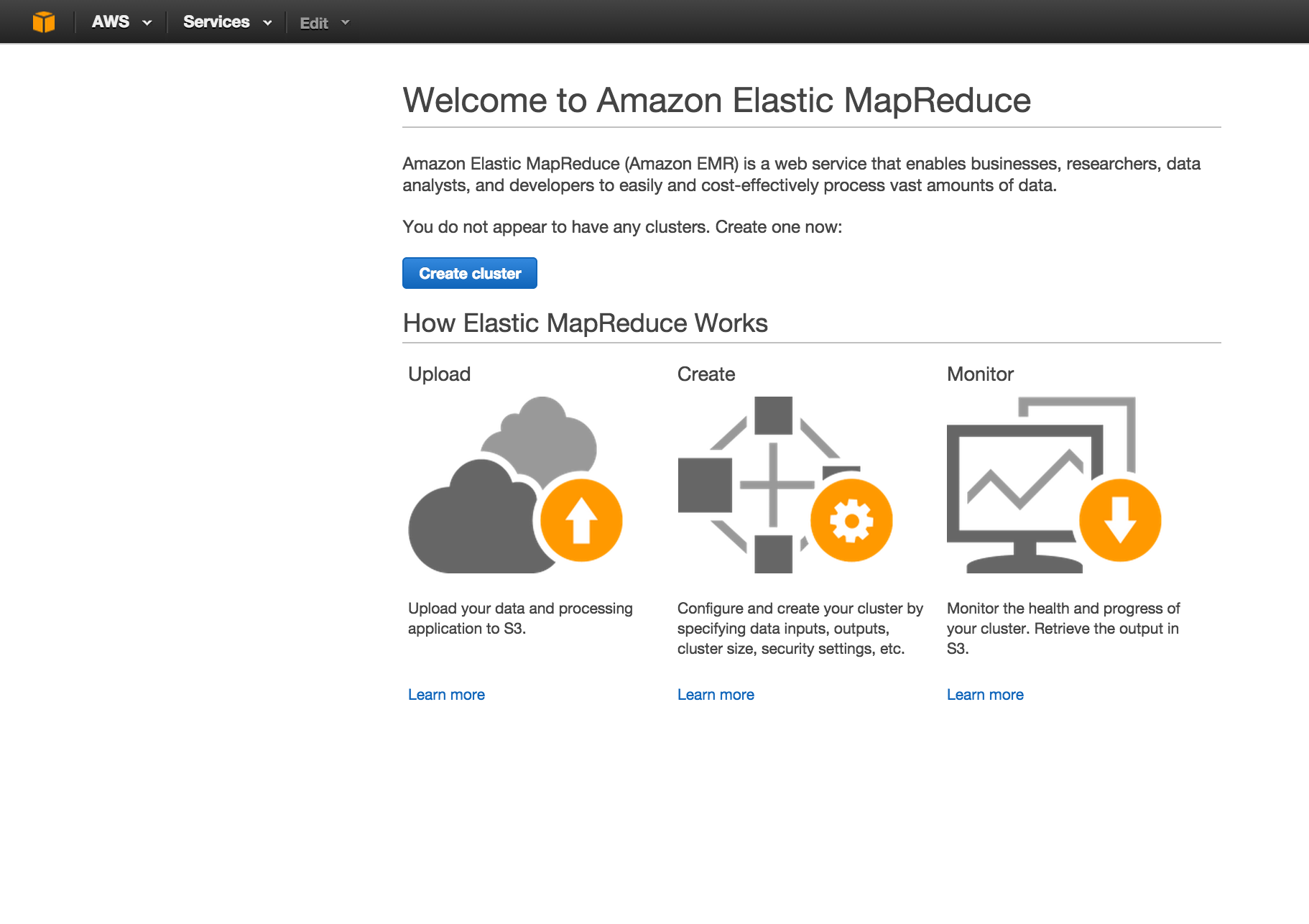 Configuring and running Spark on Amazon Elastic Map Reduce - Machine