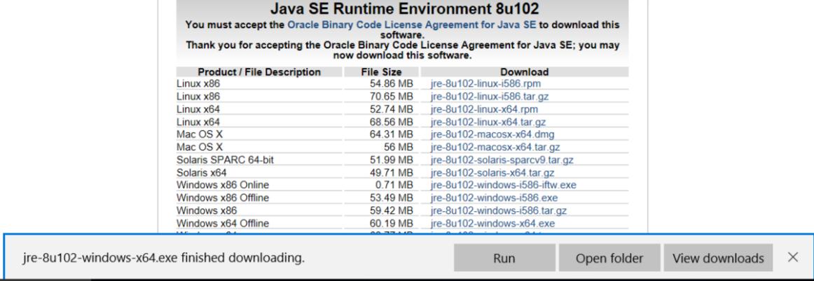 Installing JRE for PolyBase - SQL Server 2017 Integration Services