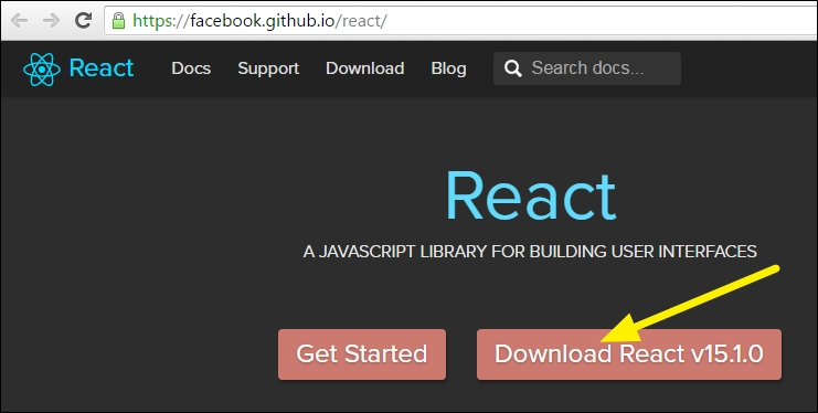 Installing ReactJS and Bootstrap - Learning Web Development with