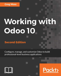 Working with Odoo 10 - Second Edition