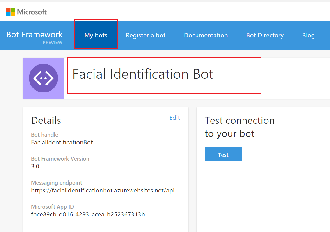 Configure Direct Line Channel - Building Bots with Microsoft Bot