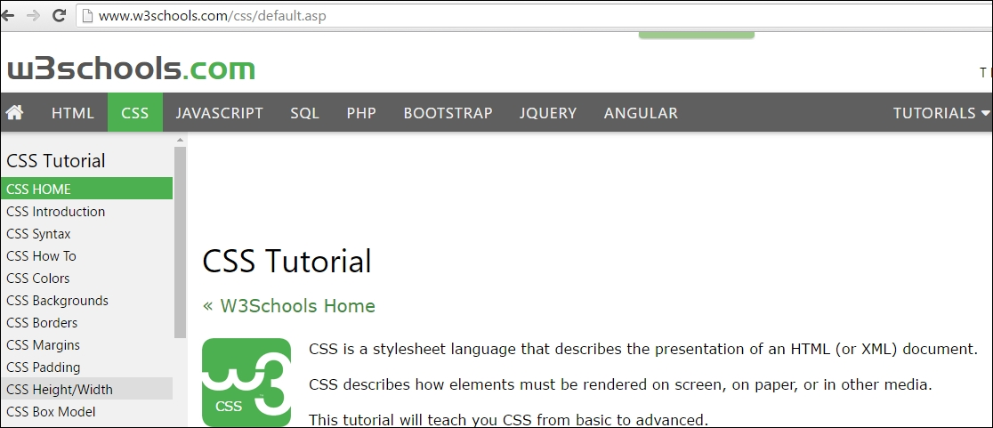 Customizing the height and width of an element with CSS