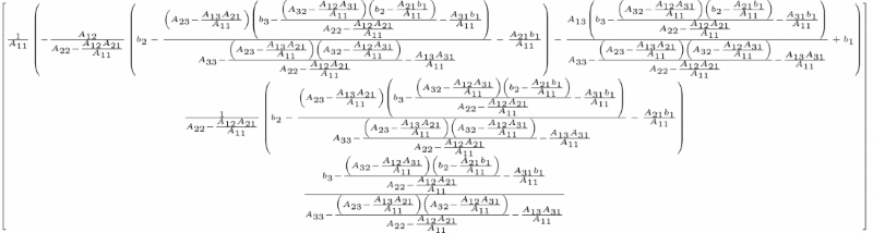 Examples for Linear Algebra Methods in SymPy - Scientific Computing