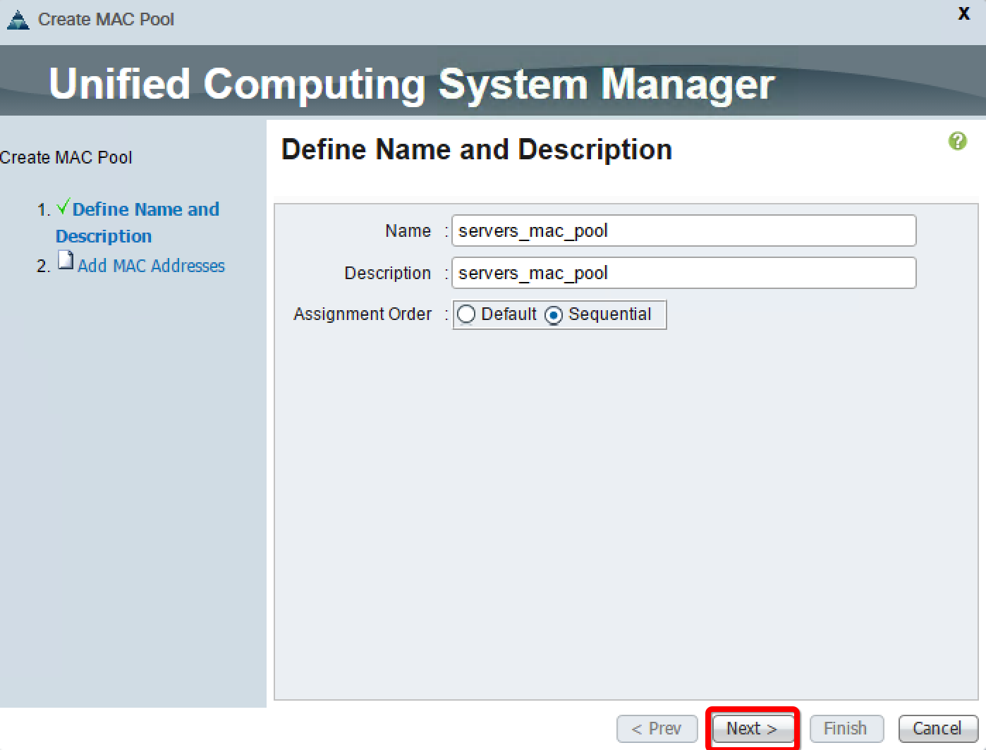Learning to create a MAC pool - Implementing Cisco UCS Solutions