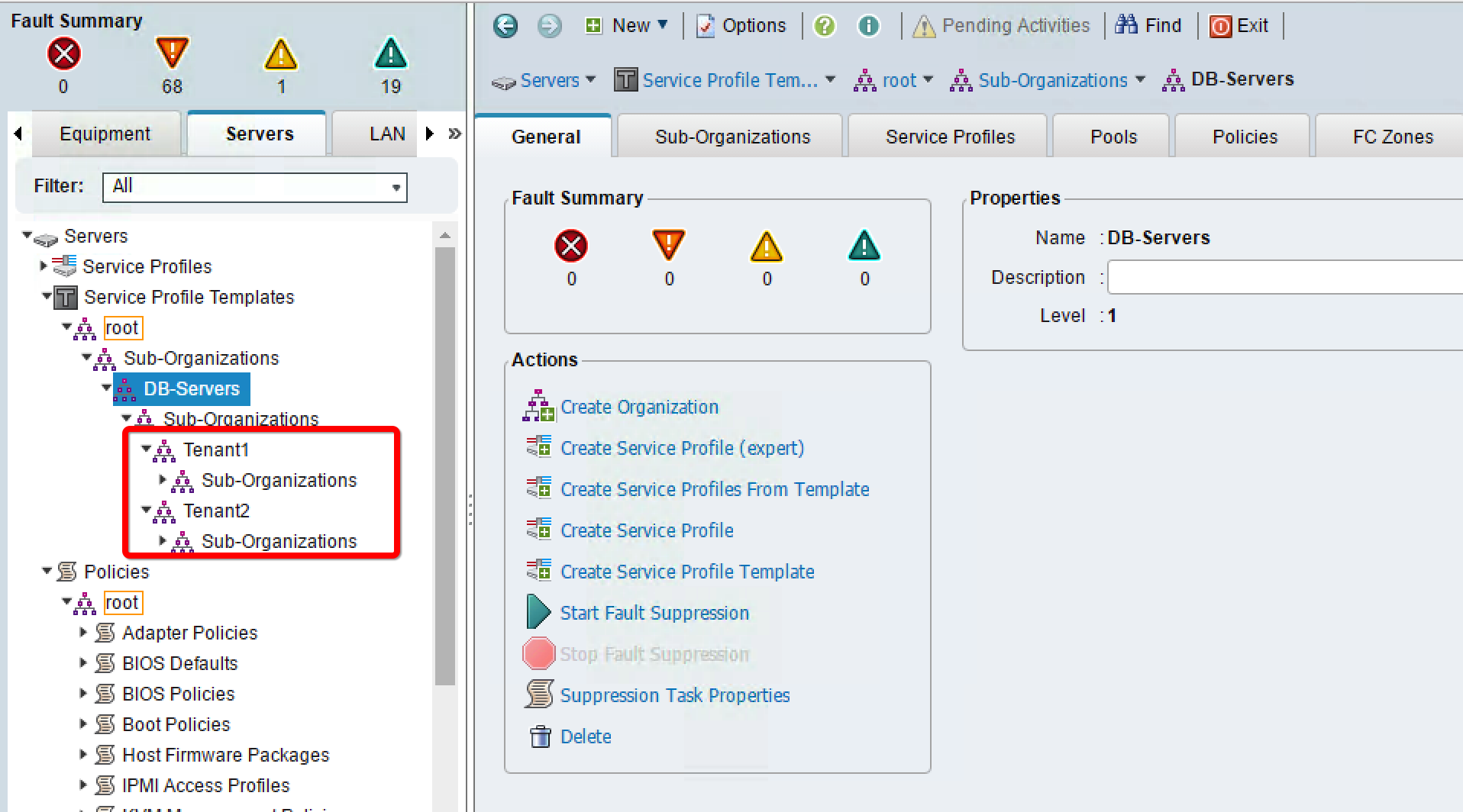 Permissions in multitenancy - Implementing Cisco UCS Solutions