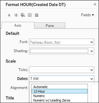 Adding a reference band - Tableau 10 Business Intelligence