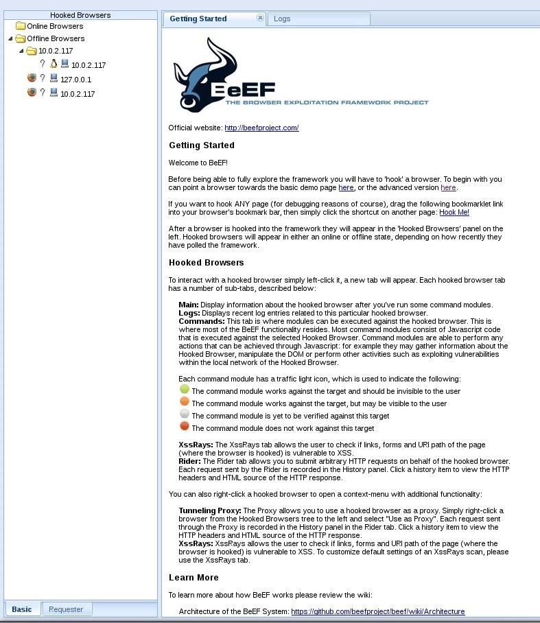 Browser exploitation with BeEF - Applied Network Security