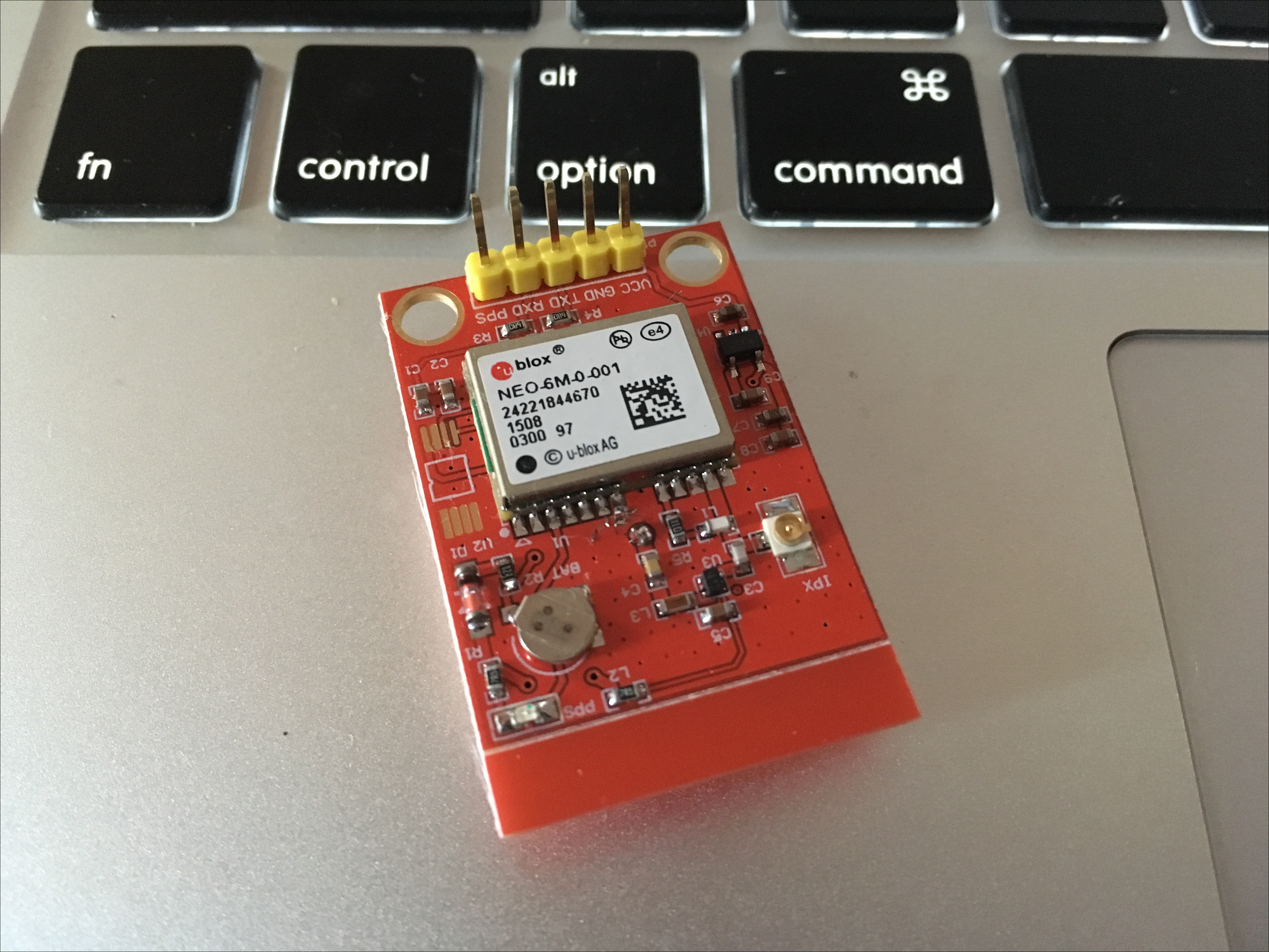 Working with a GPS module for navigation - Smart Internet of