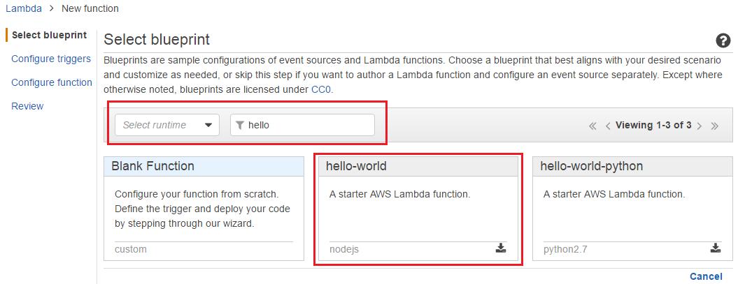 Getting started with AWS Lambda - Mastering AWS Lambda