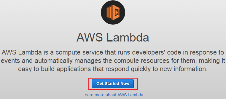 Getting started with AWS Lambda - Mastering AWS Lambda