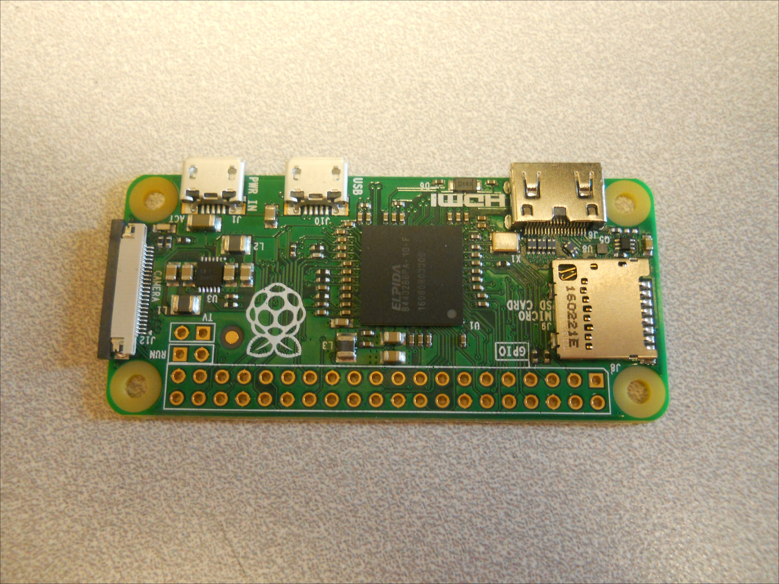 Setting up the Raspberry Pi Zero - Raspberry Pi Robotic