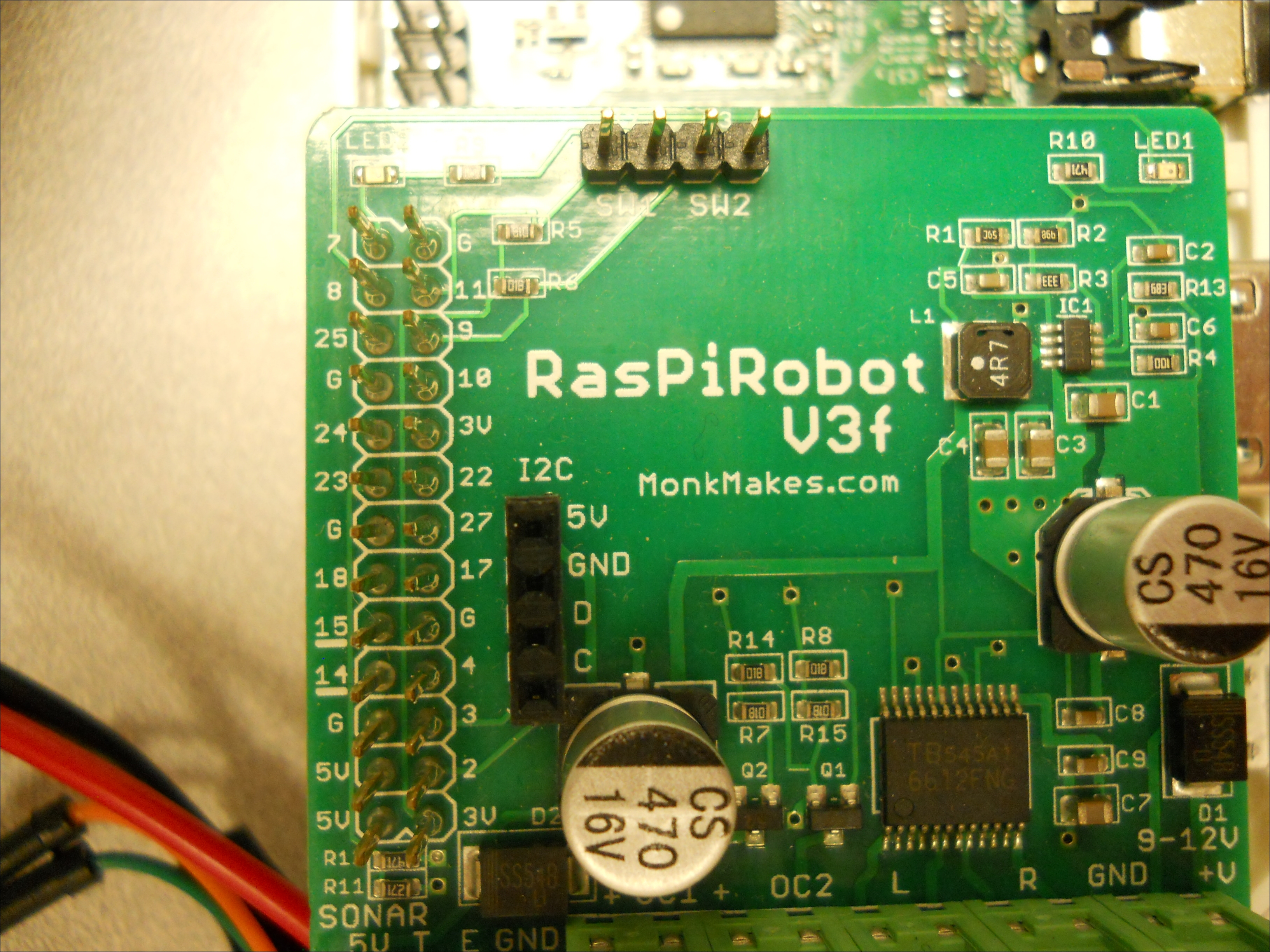 Reading the IMU - Raspberry Pi Robotic Projects - Third Edition