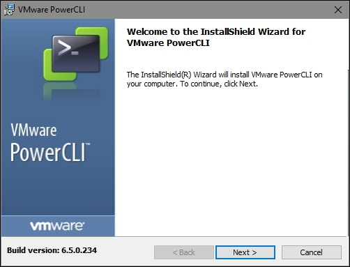 Downloading and installing PowerCLI - Learning PowerCLI