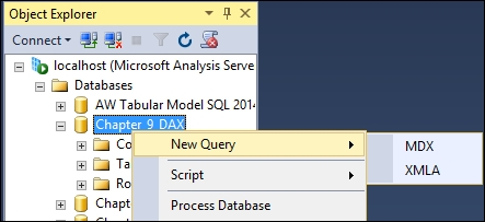 Using EVALUATE in DAX queries - Tabular Modeling with SQL