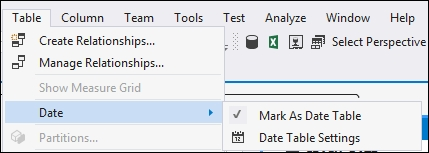 Using the CALENDAR function - Tabular Modeling with SQL Server 2016