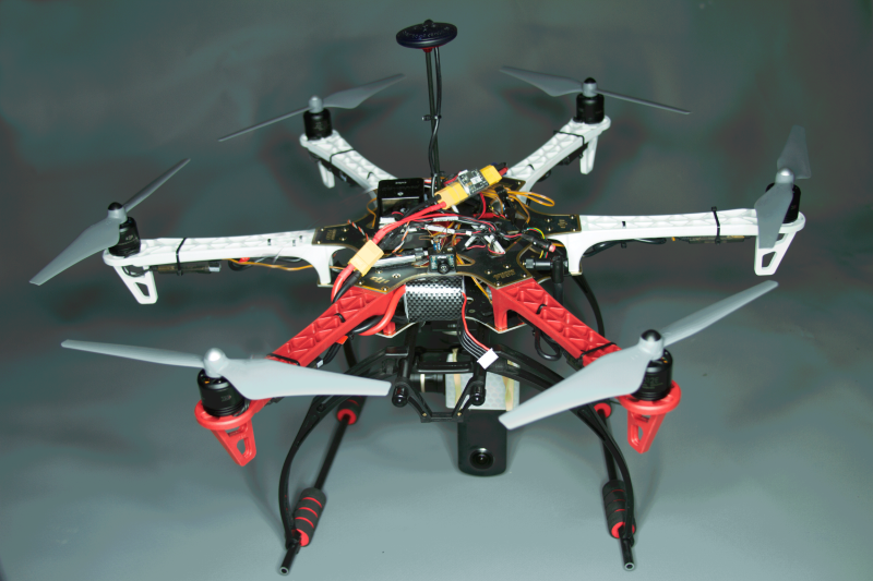 Assembling the drone - Designing Purpose-Built Drones for Ardupilot