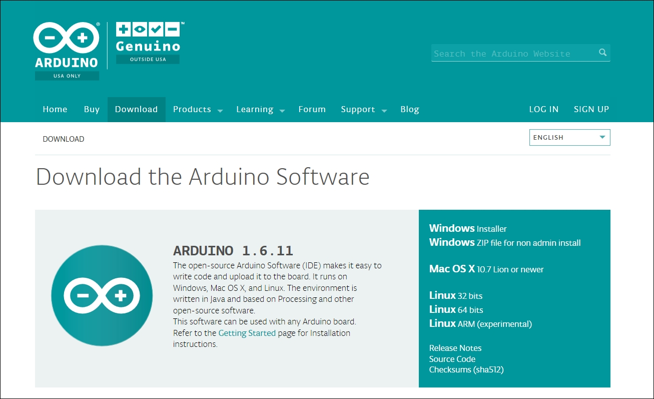 Downloading and installing Arduino IDE - Learning C for Arduino