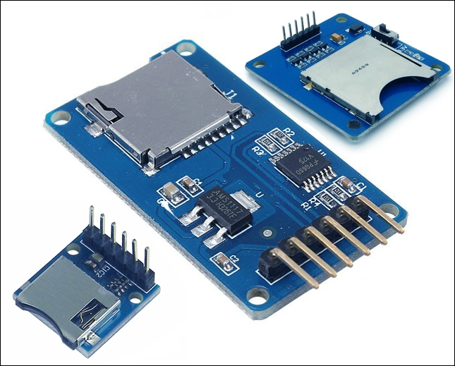 Connecting an SD card to your Arduino - Learning C for Arduino