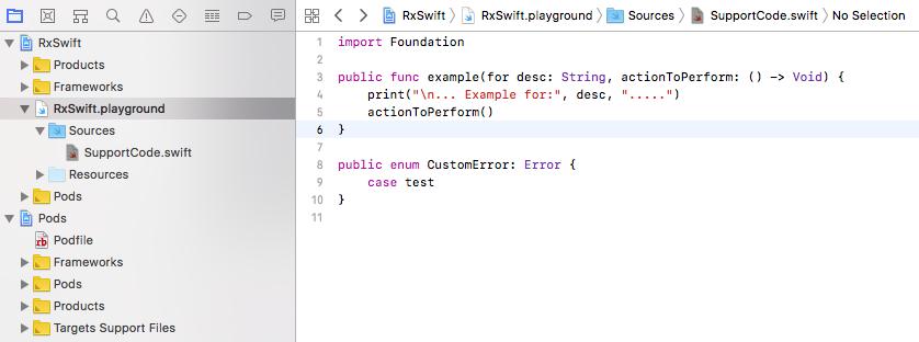 Error handling - Reactive Programming with Swift 4