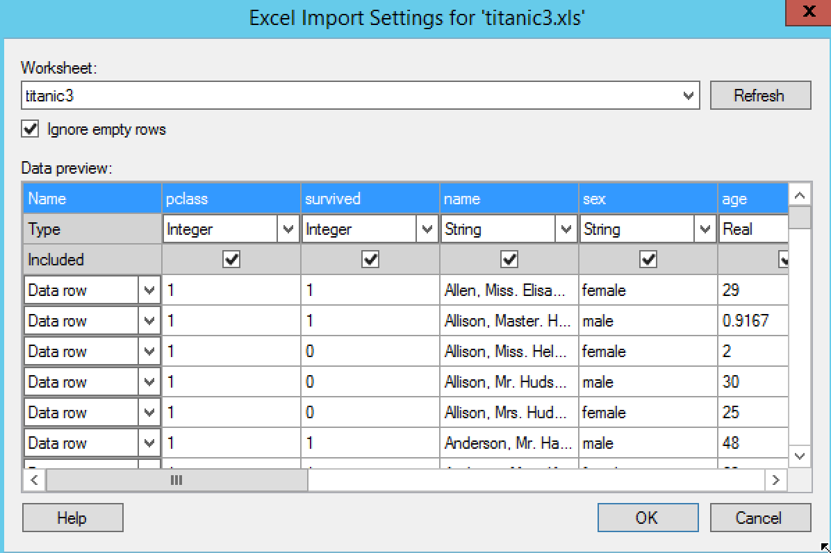 Getting started with loading data - TIBCO Spotfire: A