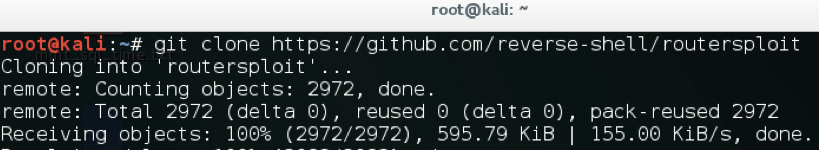 Exploiting routers with RouterSploit - Kali Linux - An