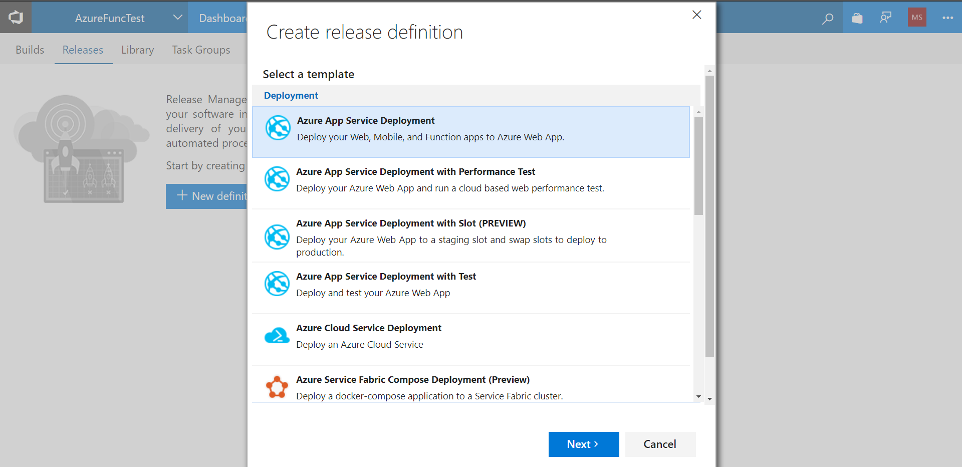 Continuous Delivery - Learning Azure Functions