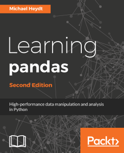 Time-series moving-window operations - Learning pandas