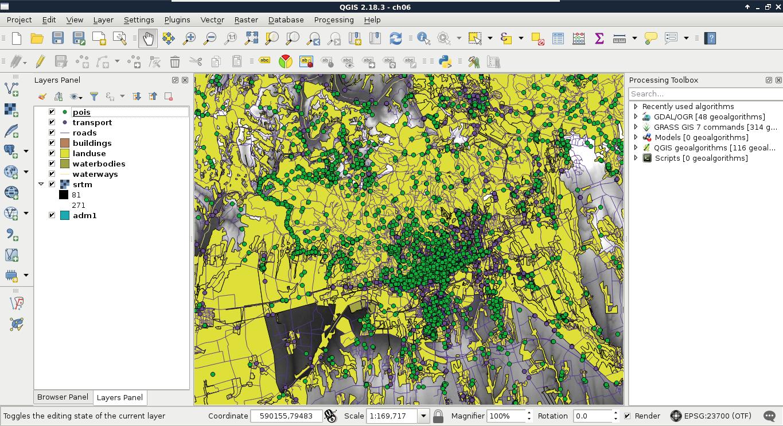 Visualizing PostGIS layers in QGIS - Practical GIS
