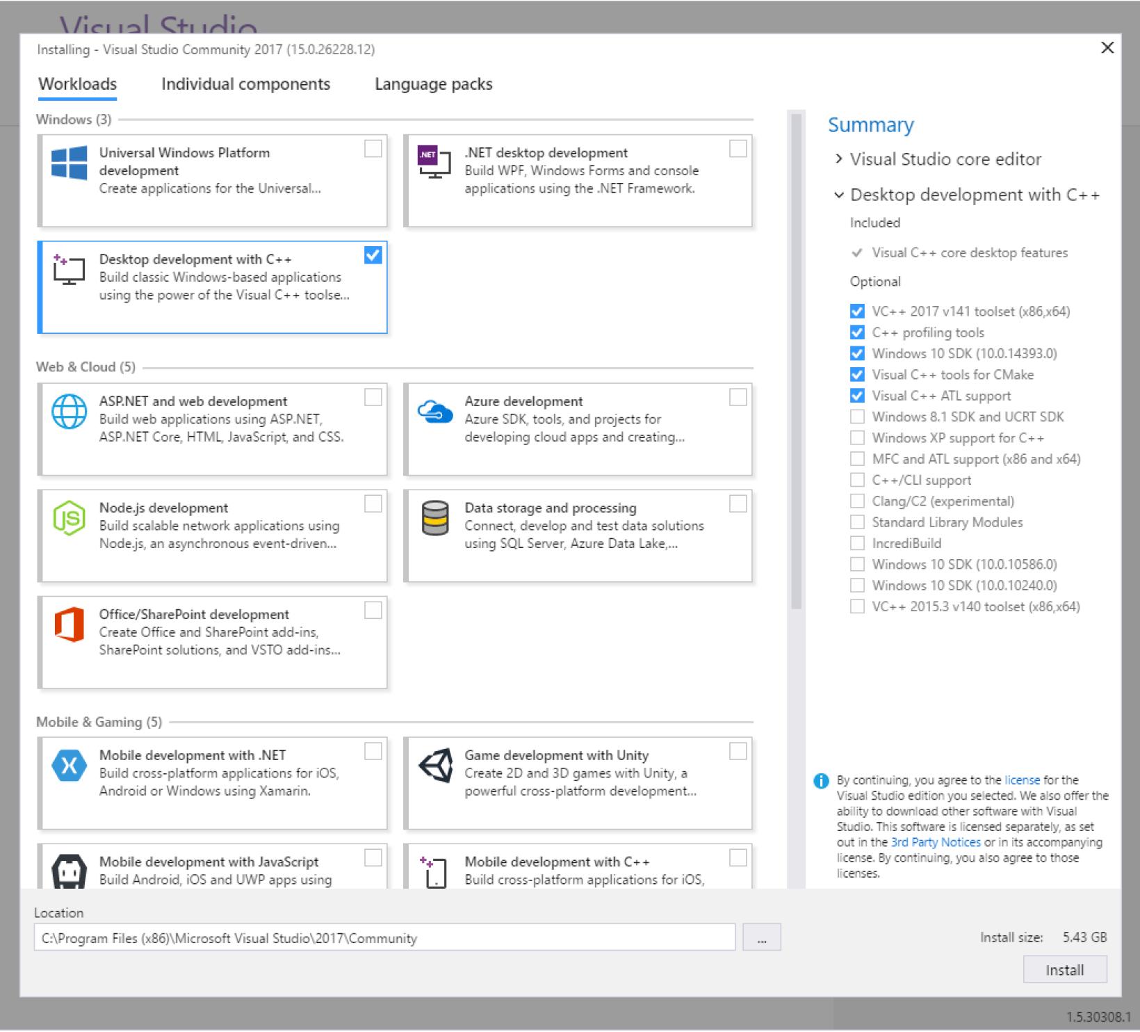Installing Visual C++ - Beginning C++ Programming