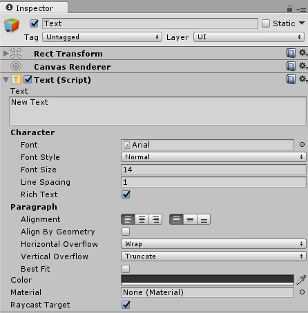 UI Text - Mastering UI Development with Unity