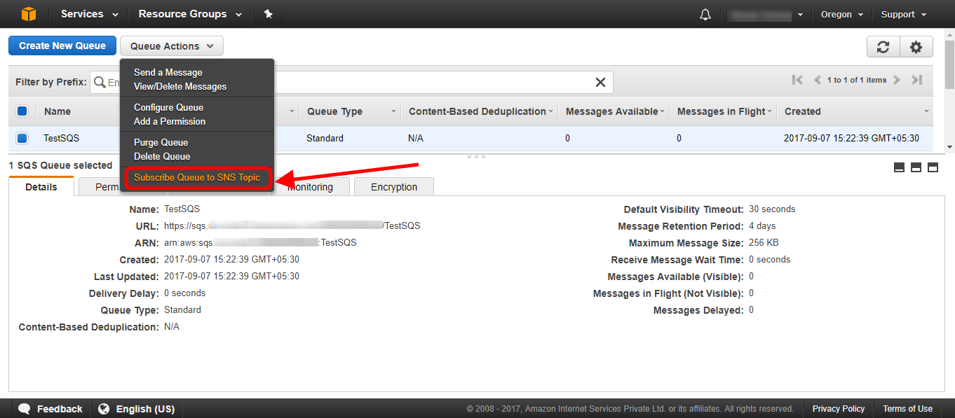 Sending Amazon SNS messages to Amazon SQS queues - AWS Certified