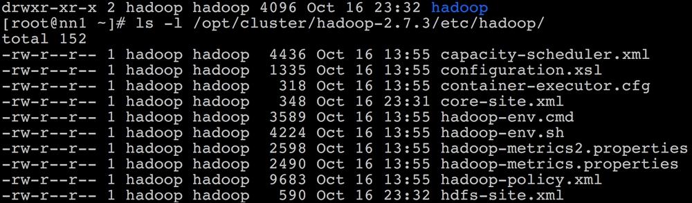 Installing a single-node cluster - HDFS components - Hadoop