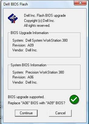 Dell BIOS Firmware Update