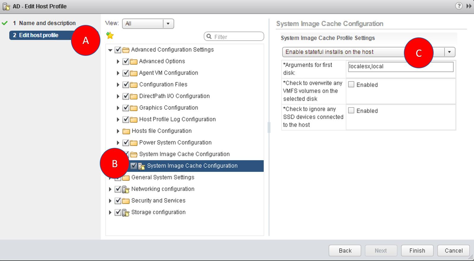 Enabling stateful install - VMware vSphere 6 5 Cookbook