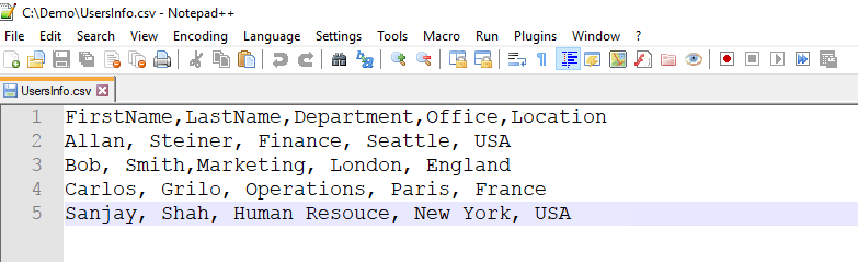 Creating your first script - PowerShell for Office 365