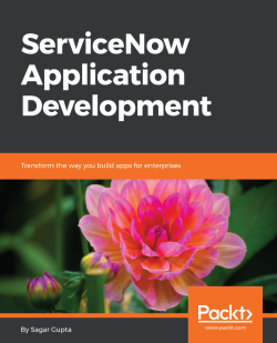 Creating a table - ServiceNow Application Development
