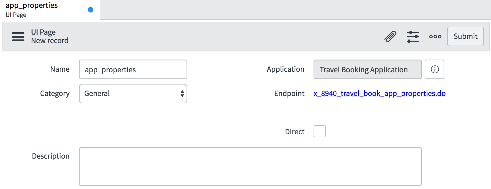 UI pages - ServiceNow Application Development