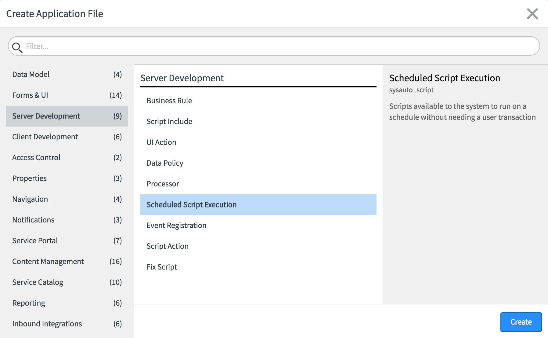 Scheduled script execution - ServiceNow Application Development