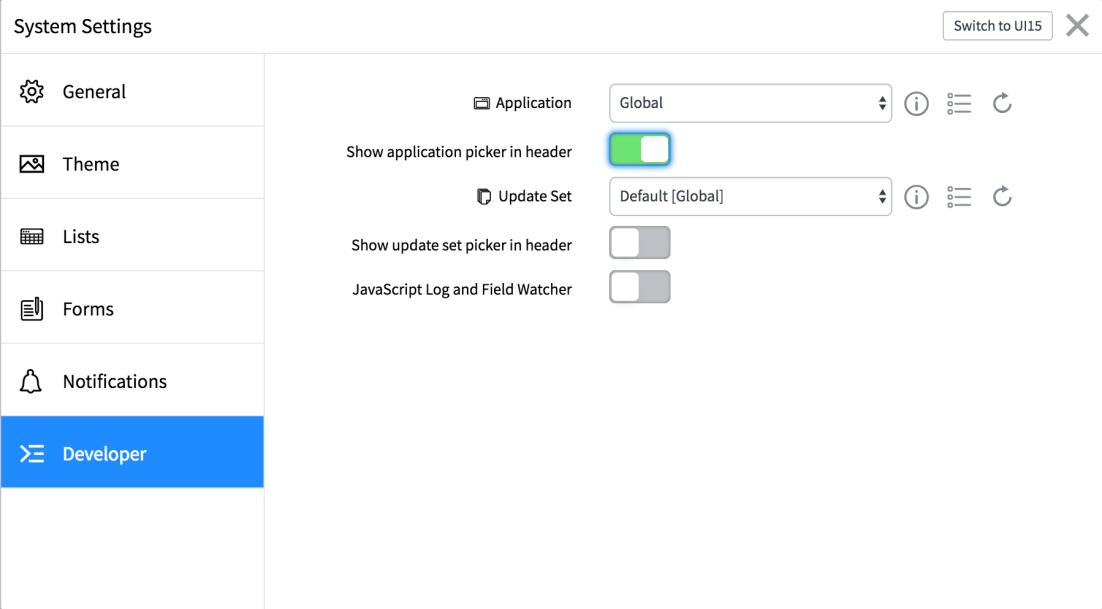 ServiceNow applications - ServiceNow Application Development