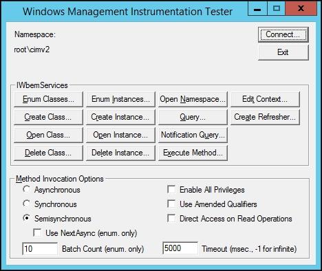 Querying WMI - Zabbix: Enterprise Network Monitoring Made Easy