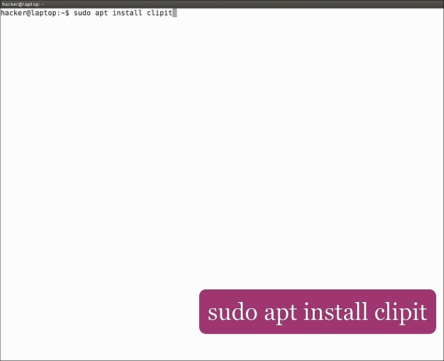 ClipIt – copy-paste at its finest - Working with Linux