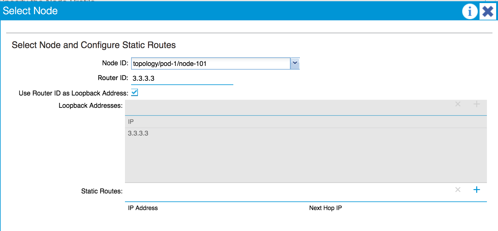 Routing with OSPF - Cisco ACI Cookbook