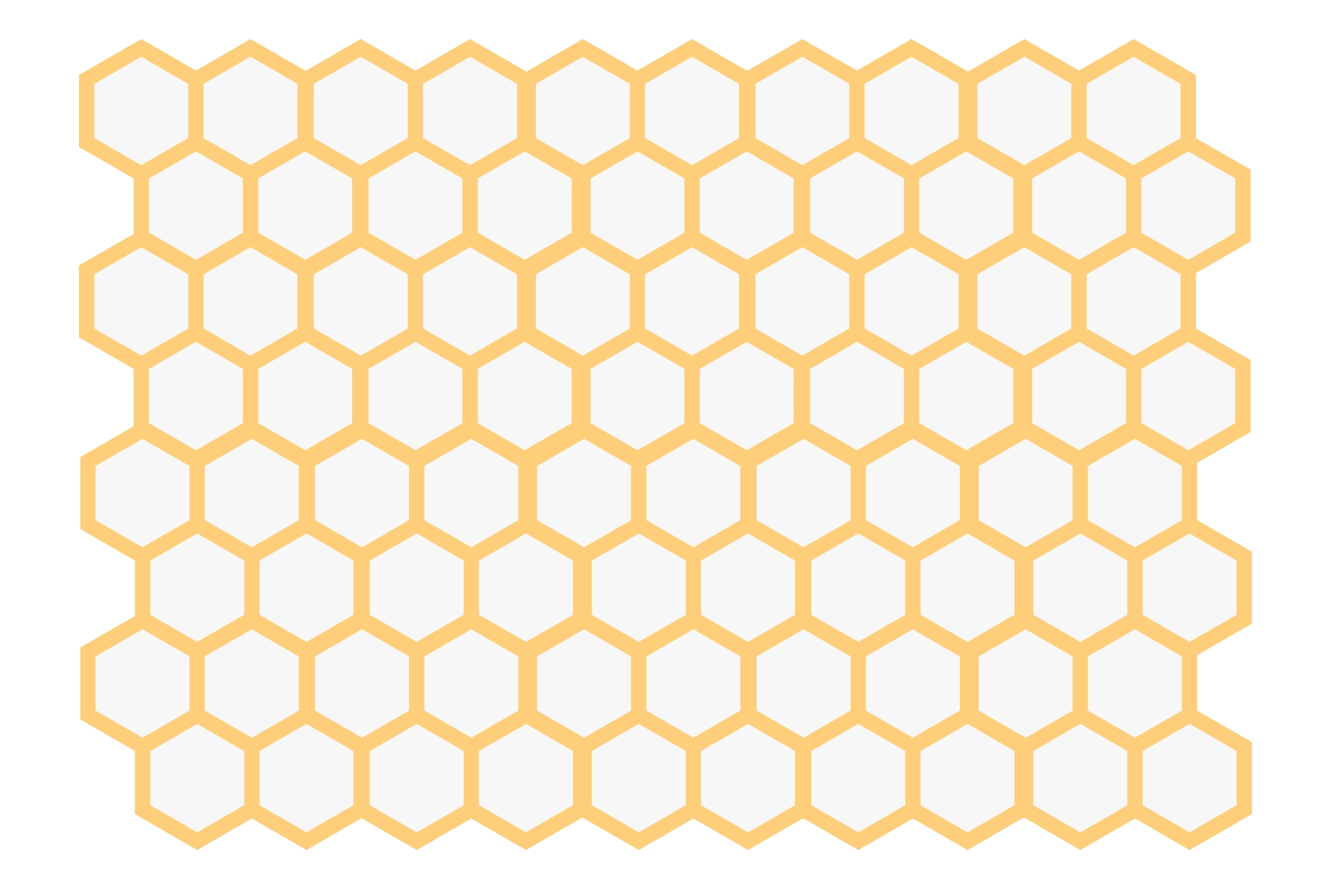 Value and use of the hexagon - Learning D3 js 5 Mapping