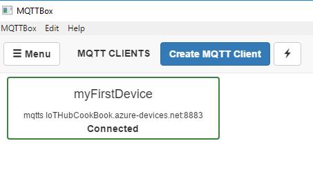 Connecting IoT Hub using MQTT client tools - Azure IoT