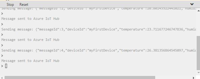 Using an online Raspberry Pi simulator - Azure IoT